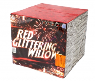Red glittering wilow